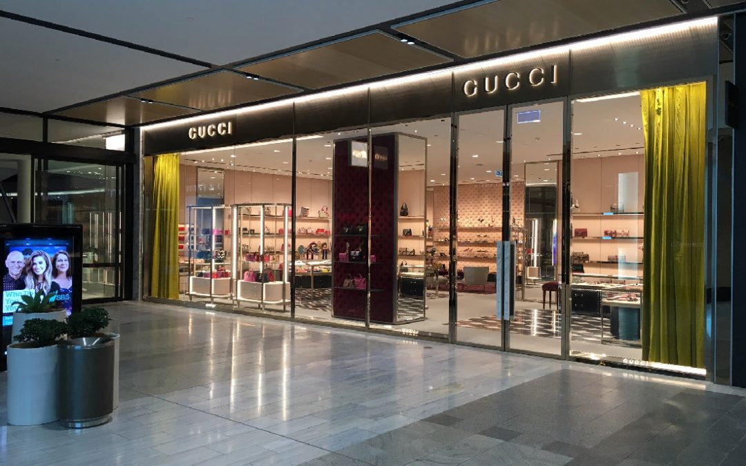 ASOFIA 2017/2018 National Interior Fitout $1 Million and Over for Gucci Pacific Fair